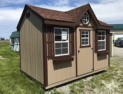 Chalet shed